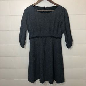 Tahari Gray Dress